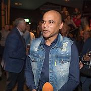 NLD/Scheveningen/20171107 - Boekpresentatie Deal, Glenn Helder werkend voor RTL Boulevard