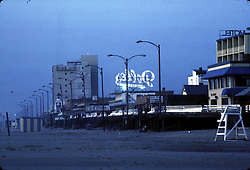 Sunrise, Rehoboth Beach, Del., Wednesday, July 17, 1985. (Photo by D. Ross Cameron)