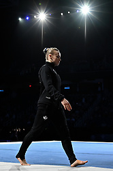 March 2, 2019 - Greensboro, North Carolina, US - ELSABETH BLACK from Canada is introduced to the crowd at the Greensboro Coliseum in Greensboro, North Carolina. (Credit Image: © Amy Sanderson/ZUMA Wire)