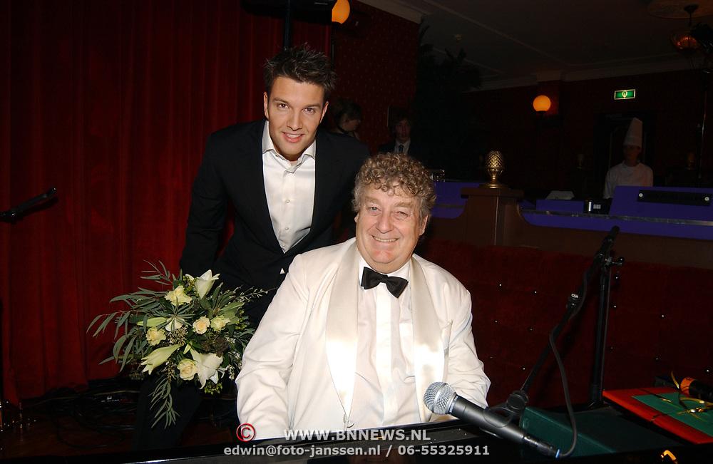 Kerstborrel Princess 2004, bas Muijs en Tony Eyk