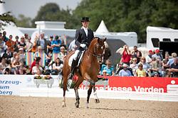 Van Lieren Laurens (NED) - President's Avanti<br /> World Championships Young Dressage Horses - Verden 2011<br /> © Dirk Caremans