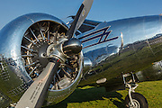 1944 Beech TC-45J at 2014 Hood River Fly In at WAAAM.