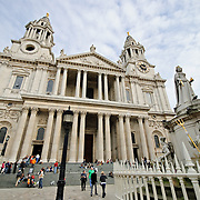 Front entrance of St. Paul's Cathedral