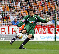 Photo: Mark Stephenson.<br /> Wolverhampton Wanderers v Norwich City. Coca Cola Championship. 22/09/2007.Norwich's goal keeper David Marshall