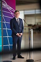 DEU, Deutschland, Germany, Berlin, 18.05.2021: Dr. Johann Wadephul, stellvertretender Vorsitzender der CDU/CSU-Bundestagsfraktion, bei einem Pressestatement im Deutschen Bundestag.