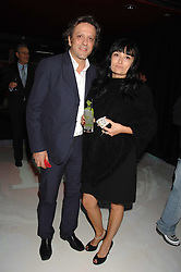 Chef GIORGIO LOCATELLI and his wife PLAXY at a party to celebrate the launch of the new Fiat Bravo held at The Roundhouse Theatre, Chalk Farm Road, London on 13th June 2007.<br /><br />NON EXCLUSIVE - WORLD RIGHTS