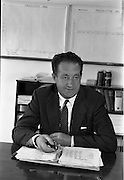 28/05/1962<br /> 05/28/1962<br /> 28 May 1962<br /> Fry-Cadbury factory on the Malahide Road, Dublin. Picture shows Mr Richard Godsil, Managing Director.