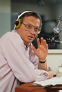 Larry King on the Larry King show in 1985..Photograph by Dennis Brack  bb26