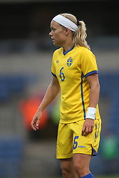 17.05.2011, Kassam Stadium, Oxford, ENG, FIFA WOMENS WORLDCUP 2011, FSP, England vs Sweden im Bild Sara Thunebro of Sweden Women // during the International Friendly Match, England vs Sweden, for FIFA Women´s World Championship 2011 in Germany, Kassam Stadium, Oxford, 2011/05/17, EXPA Pictures © 2011, PhotoCredit: EXPA/ M. Atkins *** OUT OF UK! ***