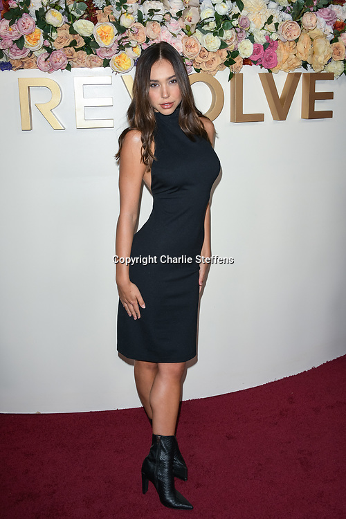 ALEXIS REN attends the 3rd Annual #REVOLVEawards at Goya Studios in Los Angeles, California