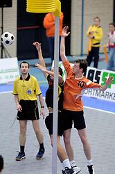 05-02-2006 KORFBAL: NEDERLAND - BELGIE: DRIEBERGEN<br /> Nederland wint met 21-12 van Belgie / Michiel Gerritsen<br /> ©2006-WWW.FOTOHOOGENDOORN.NL