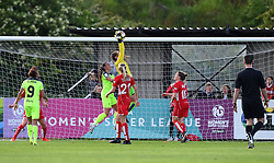 Caitlin Leach of Bristol City Women makes a save - Mandatory by-line: Paul Knight/JMP - 20/05/2017 - FOOTBALL - Stoke Gifford Stadium - Bristol, England - Bristol City Women v Liverpool Ladies - FA Women's Super League Spring Series