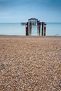 Brighton, Sussex, England. UK,  Sunday,  10/10/2021, General Views, Seafront Area, [Mandatory Credit: Pete SPURRIER].