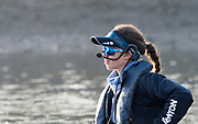 Putney, London,  Tideway Week, OUWBC. Oxford, Cox: Eleanor Shearer, Championship Course. River Thames, <br /> <br /> Tuesday  28/03/2017<br /> [Mandatory Credit; Credit: Peter Spurrier/Intersport Images.com ]