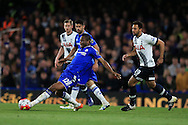 Mikel of Chelsea in action. Barclays Premier league match, Chelsea v Tottenham Hotspur at Stamford Bridge in London on Monday 2nd May 2016.<br /> pic by Andrew Orchard, Andrew Orchard sports photography.