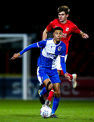 Luca Hoole of Bristol Rovers - Mandatory by-line: Robbie Stephenson/JMP - 29/10/2019 - FOOTBALL - County Ground - Swindon, England - Swindon Town v Bristol Rovers - FA Youth Cup Round One