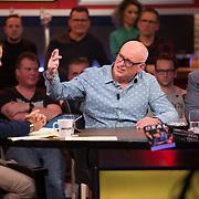 NLD/Hilversum/20171215 - Dick Advocaat te gast bij Voetbal Inside, Wilfred Genee, Rene van der Gijp