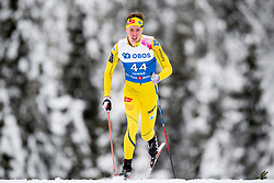 January 11, 2018 - GSbu, NORWAY - 180111 Anders SÂ¿rensen competes in the men's sprint classic technique qualification during the Norwegian Championship on January 11, 2018 in GÅ'sbu..Photo: Jon Olav Nesvold / BILDBYRN / kod JE / 160127 (Credit Image: © Jon Olav Nesvold/Bildbyran via ZUMA Wire)