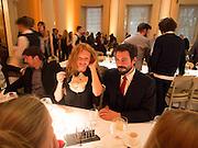 OLIVIA INGE; Michelangelo Bendandi , Lisson Gallery dinner, Banqueting House. London. 15 October 2013