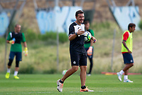 Getafe CF's Physical trainer Javier Vidal during training session. August 1,2017.(ALTERPHOTOS/Acero)