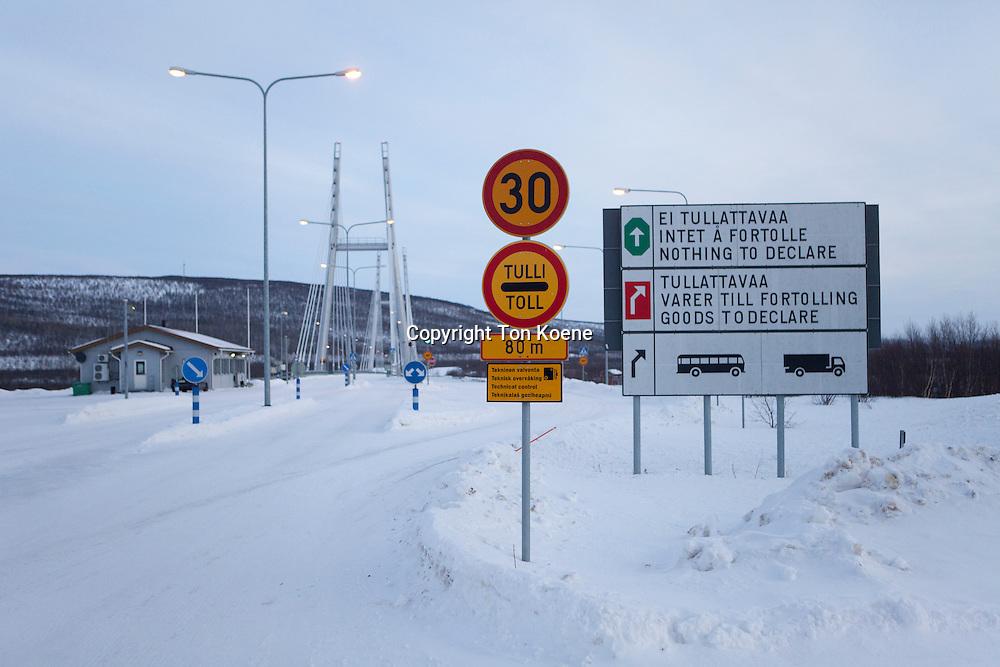 border between finland and norway