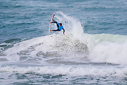 Jack Freestone (AUS) surfing in Qualifying Round 2 Heat 1 of the WSL Redbull Airborne event in Hossegor, France.