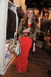 BRYONY DANIELS at a party hosted by TLC to celebrate signing their 5000th member and Ralph Lauren to celebrate the opening of the first Ralph Lauren Rugby store in the UK at 43 King Street, Covent Garden, London on 30th November 2011.