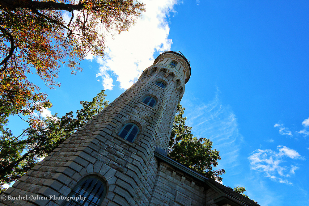 """""""Light Perspective""""<br /> <br /> The beautiful stone architecture of the Lighthouse at Old Fort Niagara in Youngstown New York. Located on Lake Ontario.<br /> <br /> Lighthouses of the Great Lakes by Rachel Cohen"""