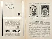 All Ireland Senior Hurling Championship Final,.Programme,.04.09.1955, 09.04.1955, 4th September 1955,.Galway 2-8, Wexford 3-13,.Minor Galway v Tipperary, .Senior Galway v Wexford,.Croke Park,..Advertisements, New Ireland Assurance Company Ltd, Another Point!,..Articles, Sinn Fein,