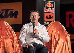 20.02.2017, Munderfing, AUT, Teampräsentation KTM Factory Racing, im Bild Pit Beirer (KTM Motorsport Director) // Pit Beirer KTM Motorsport Director during a presentation of KTM factory racing at Munderfing, Austria on 2017/02/20. EXPA Pictures © 2017, PhotoCredit: EXPA/ Reinhard Eisenbauer
