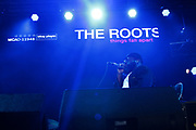 PHILADELPHIA, PA-JUNE 1: Recording Artist Black Thought of the ROOTS perform at the 12th Annual ROOTS Picnic featuring special guest Recording Artist/Actor Yasiin Bey and others on June 1, 2019  held at Fairmont Park in Philadelphia, PA.  (Photo by Terrence Jennings/terrencejennings.com)