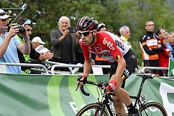 September 15, 2018 - Sant Julia De Loria, SPAIN - Belgian Maxime Monfort of Lotto Soudal rides the 20th stage of the 'Vuelta a Espana', Tour of Spain cycling race, 97,3km from Escaldes-Engordany to Sant-Julia de Loria, Spain, Saturday 15 September 2018. ..BELGA PHOTO YUZURU SUNADA FRANCE OUT. (Credit Image: © Yuzuru Sunada/Belga via ZUMA Press)