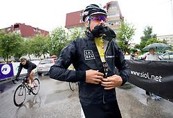 Jakob Fuglsang (DEN) of Team Saxo Bank at start at 3rd stage of Tour de Slovenie 2009 from Lenart to Krvavec, 175 km, on June 20 2009, Slovenia. (Photo by Vid Ponikvar / Sportida)