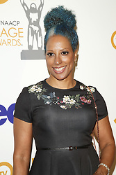 March 9, 2019 - Los Angeles, CA, USA - LOS ANGELES - MAR 9:  Millicent Shelton at the 50th NAACP Image Awards Nominees Luncheon at the Loews Hollywood Hotel on March 9, 2019 in Los Angeles, CA (Credit Image: © Kay Blake/ZUMA Wire)
