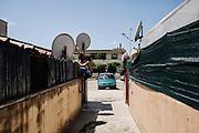 Zona residenziale abitata in prevalenza dalla comunitaì sikh, Sabaudia (Latina), Giugno 2014.  Christian Mantuano / OneShot