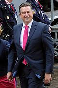 Aankomst van Kamerleden bij de Ridderzaal voor Prinsjesdag in Den Haag<br /> <br /> Op de foto :<br /> <br /> <br />  SP-lijsttrekker Emile Roemer