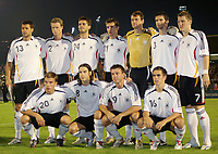 Serravalle 06/9/2006<br /> Match of Qualify European Football 2008 SanMarino-Germany<br /> Germany Team Group<br /> Michael Ballack, Marcell Jansen, Manuel Friedrich, Miroslav Klose, Jens Lehmann, Ame Friedrich, Bastian Schweinsteiger<br /> Lukas Podolski, Torsten Frings, Bernd Schneider, Philipp Lahm<br /> Photo Luca Pagliaricci Inside