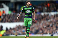 Alberto Paloschi of Swansea City looks on. Barclays Premier league match, Tottenham Hotspur v Swansea city at White Hart Lane in London on Sunday 28th February 2016.<br /> pic by John Patrick Fletcher, Andrew Orchard sports photography.