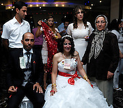 Turkey July 25 2011: Yuksel and Mehmet's wedding party. Copyright 2011 Peter Horrell