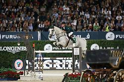Allen Bertram, (IRL), Molly Malone V<br /> Final<br /> Furusiyya FEI Nations Cup Jumping Final - Barcelona 2015<br /> © Dirk Caremans<br /> 26/09/15