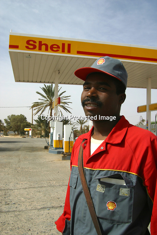 shell filling station in morocco
