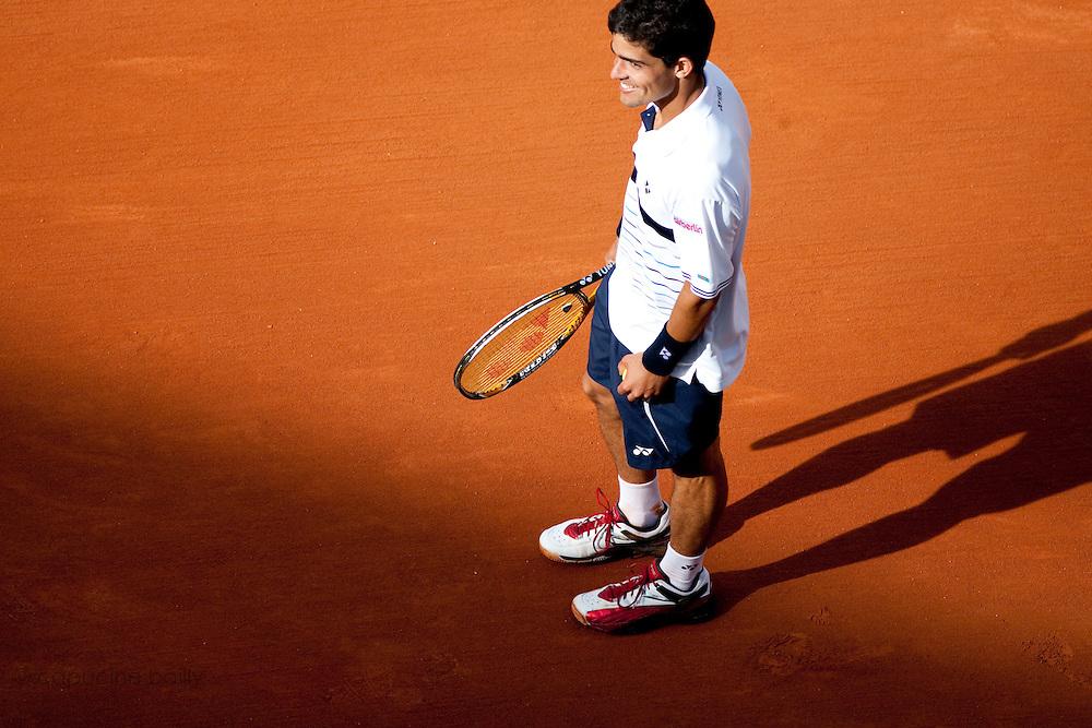 Roland Garros 2011. Paris, France. May 22nd 2011..Portuguese player Rui MACHADO against Julien BENNETEAU