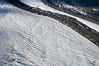 Glacier crevasse detail, Wrangell-St. Elias National Park Alaska