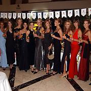 Miss Nederland 2003 reis Turkije, alle Missen