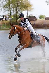 Malisart Michelle, BEL, Halla<br /> Nationale LRV-Eventingkampioenschap Minderhout 2017<br /> © Hippo Foto - Kris Van Steen<br /> 30/04/17