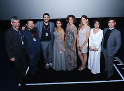 Edinburgh International Film Festival 2019<br /> <br /> H0us3 (International Premiere)<br /> <br /> Stars arrive on the red carpet for the international premiere<br /> <br /> Pictured: Cast and crew at the Odeon<br /> <br /> Alex Todd | Edinburgh Elite media