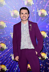 Will Bayley arriving at the red carpet launch of Strictly Come Dancing 2019, held at BBC TV Centre in London, UK.