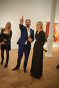 PRINCESS MARIA VON THURN UND TAXIS; KEITH TYSON; ROSAMUND PIKE, Panta Rhei. An exhibition of work by Keith Tyson. The Pace Gallery. Burlington Gdns. 6 February 2013.