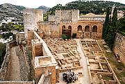 Alhambra, Granada, Andalucia, Spain