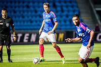 Fotball<br /> Tippeligaen<br /> Vålerenga VIF - Sandefjord<br /> Ullevaal Stadion 11.07.15<br /> Jonatan Tollås Nation<br /> Foto: Eirik Førde
